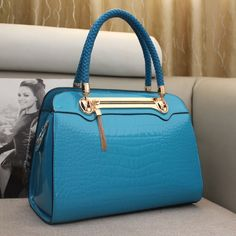 $ 29.99 Fatastic Pure Color with Alloy Tassel Fashion Women's Handle Bag 6colors