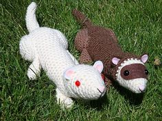 Ravelry: Ferrets pattern by Chiwaluv Amigurumi Critters