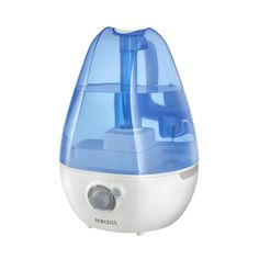 HoMedics - 1 Gal. Ultrasonic Cool Mist Humidifier - Blue/White