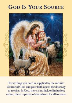Oracle Card God Is Your Source | Doreen Virtue - Official Angel Therapy Website