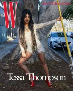 Tessa Thompson for W Mag Best Performances Annual Issue -Ask and Tell!1966 Magazine Jokes About Life, Hollywood Street, Gena Rowlands, W Magazine, Magazine Covers, Romance Film, Tessa Thompson, George Clooney, Gal Gadot