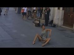 Rima Baransi dancing in Trieste, Italy [Horizontally stabilized] - YouTube