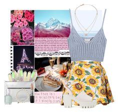 """""""All for It"""" by lady-wednesday ❤ liked on Polyvore featuring Monki, Michael Kors, MAC Cosmetics, Sydney Evan, Chicnova Fashion, Nly Shoes and Essie"""