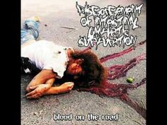 DISGORGEMENT OF INTESTINAL LYMPHATIC SUPPURATION - '' Blood On The Road ''