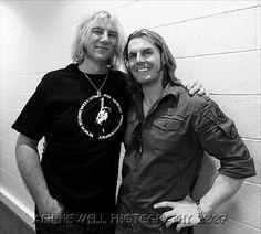 Joe with Ash Newell