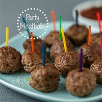 Lose the fat found in traditional meatballs, but keep the flavor! We swap traditionally higher-fat meats with leaner cuts and amp up the flavor in our seasonings. These meatballs make the perfect party appetizer or snack for an afternoon by the pool.