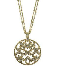 The Cadiz Necklace  Gold by JewelMint.com, $76.00