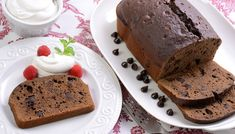 Is chocolate cake your favorite cake? Enjoy a mouth full of chocolate chips in every bite. Complete this dessert with a side of whipped cream and raspberries! Zojirushi Bread Machine, Bread Maker Recipes, Chocolate Cake, Chocolate Chips, Food Obsession, Whipped Cream, Nom Nom, Raspberry, Pudding