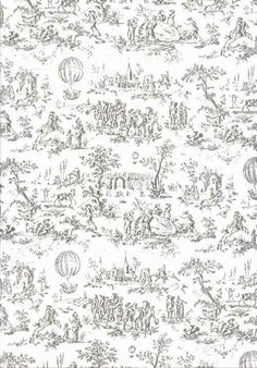 1000 images about toile de jouy on pinterest toile de jouy toile and pier - Tapisserie toile de jouy ...