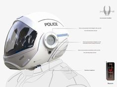 Forcite helmet on Industrial Design Helmet Design, Mask Design, Arte Sci Fi, Presentation Layout, Ads Creative, Armor Concept, Motorcycle Helmets, Industrial Design, Modern Industrial
