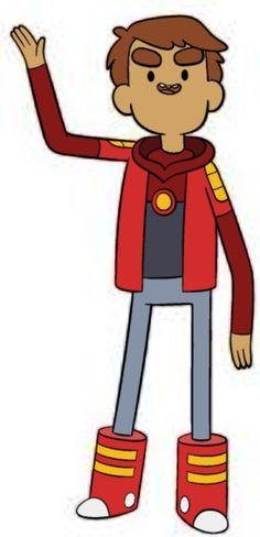 Danny from Bravest Warriors Lol Mop management