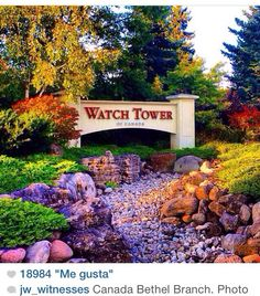 Watch Tower (Bethel) Headquarters, Georgetown, Ontario, Canada. I was here in the 90's and it is beautiful!