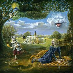 Michael Cheval paintings