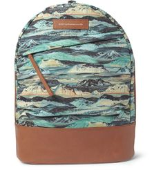 WANT Les Essentiels de la Vie Kastrup Liberty-Print Leather-Trimmed Canvas Backpack | MR PORTER