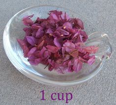 Dried Bougainvillea Flower Petals by FiresidebyMeg on Etsy, $2.00 per cup