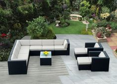 Genuine Ohana Outdoor Patio Sofa Sectional Wicker Furniture 12pc Couch Set with Free Patio Cover by Ohana Collection, http://www.amazon.com/dp/B004QSBYB6/ref=cm_sw_r_pi_dp_RAUCrb1S6CZFQ