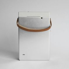 Braun TP1 designed by Dieter Rams.