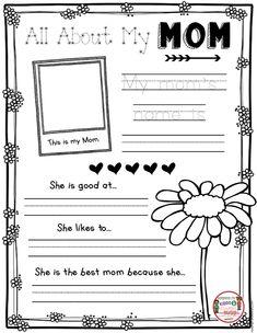 MAY in kindergarten FREEBIE easy no prep worksheets