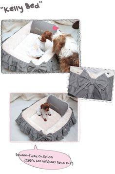 Designer Dog Beds- Louis Dog, Cute Pet Beds, Unique, Fancy, High End, Best, Louis Dog Designer
