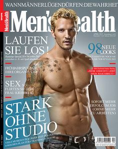 Parker Hurleys Mens Health April 2015 Cover Fix: GQ Style, 007 for Empire, Alexander Wang + More