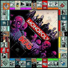 Walking Dead Monopoly...Boom! Done