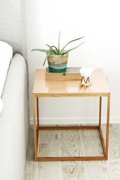 IKEA hack DIY coppernightstand copper DIY
