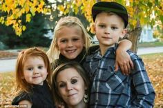 LaTasha Gosling, 27,  and her two daughters, Janyaa, 4, and Jenika, 8, and her son Landen, 7, (above) were murdered early Wednesday by Gosling's partner Steve O'Shaughnessy
