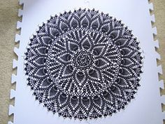 Ravelry: Double Pineapple Doily pattern by American Thread Company