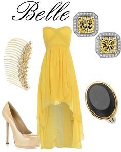"""Belle"" by alliemarie53 on Polyvore"