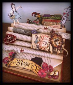 Livre altéré Magic Of Oz Graphic 45 , scrapbooking : Loisirs créatifs, scrapbooking par rosesarah