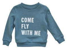 Maed for Mini - sweater come fly with me