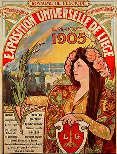 Belle époque Liège exposition universelle 1905