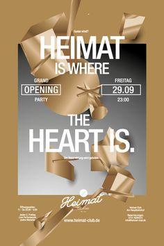 Heimat Club : Case Study by Christoph Ruprecht, via Behance