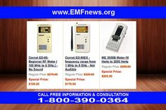 Emf-Meters - Microwave radio systems rf protection cornet ed-65 features electrical meters frequency measuring instrument electromagnetic radiation meters cornet ed-65.  Microwave radio communication microwave receiver microwave transmission networks digital rf meter hf32d manual me3030b manual frequency counter preamp rf emf.