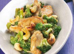 Brokkoli-Hähnchen-Wok