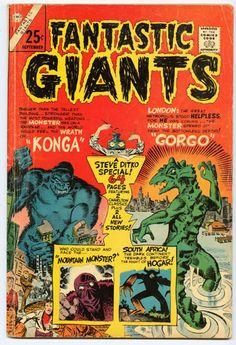 Konga comics