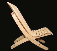 Adirondack Beach Chair Plans - Portable, 2 Piece, 2 Position - Digital Cad PDF