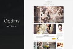 Optima - Clean & Clear Blog Theme by brickthemes on Creative Market