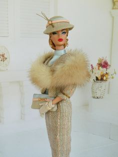 Barbie dolls wearing fur and take over the world!