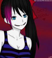 Sexy nina -Creepypasta Nina the Killer- by Nami-Chan76021