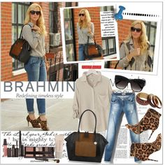 """""""How do you wear your Brahmin?"""" by rinagq on Polyvore"""
