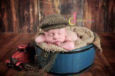 c2ed1488e533d Custom Order Vintage Style Newsboy Hat photo prop by Snipitsink News Boy Hat