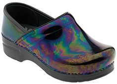 Dansko Professional Petrol Patent in  from PlanetShoes.com