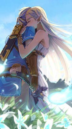 The legend of zelda- princess zelda & link art #Thelegendofzelda #princesszelda #link #cosplayclass Wind Waker, Hyrule Warriors, Link Zelda, The Legend Of Zelda, Legend Of Zelda Breath, Game Character, Metroid, Video Game Art, Video Game Anime
