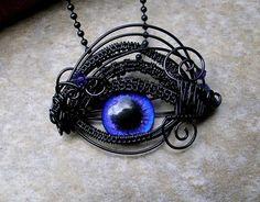 $35.98 Steampunk Gothic Evil Eye Dragon Eye - Pendant