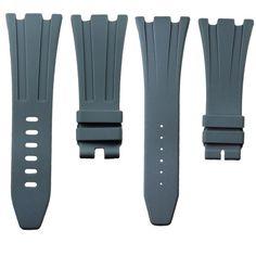 Grey Rubber Audemars Piguet 42mm Strap – Horus Straps