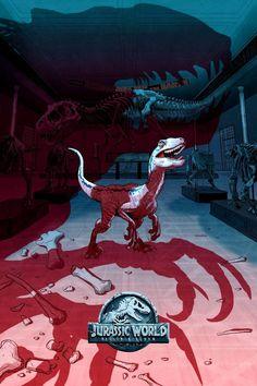 Jurassic World Poster, Jurassic World Wallpaper, Blue Jurassic World, Jurassic Movies, Jurassic Park Series, Jurassic World Fallen Kingdom, Jurrassic Park, Park Art, Parc A Theme