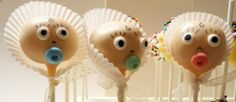One dozen cake pops in your choice of flavor, decorated to look like babies! Wouldn't these be perfect to announce the birth of your new baby, give as shower favors, or share with the new parents on the day of their baby's birth? MEMBER - CakePopFusion