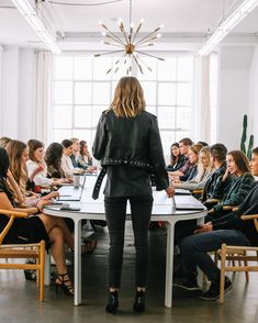As a company for women, by women, everyday is Today I'm feeling extra grateful for my team of boss ladies and the… Dream Job, Dream Life, Boss Lady, Girl Boss, Look Office, Mode Glamour, Future Jobs, Anine Bing, Successful Women