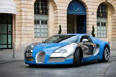 Veyron in turquoise & silver